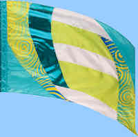 Flags for parades & performances sold by Western Band