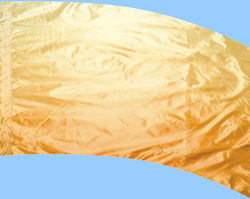 Shaded Poly China Silk F-1 Gold
