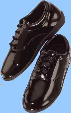 Black Patent Pinnacle Shoes