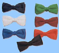 "Polyester/Satin 2"" Bow Ties"