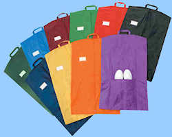 Colored Nylon Garment Bags - Style 2