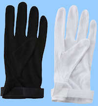 Cotton Hook & Loop Gloves