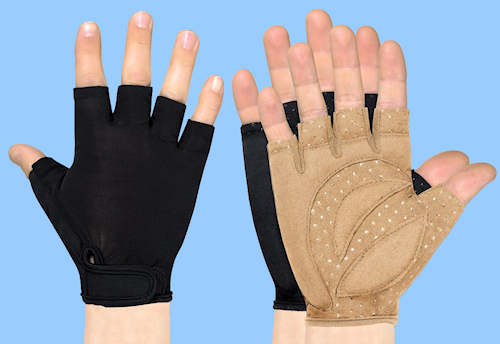 Grip Factor Fingerless Gloves