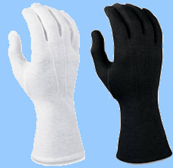 Long Wristed Polyester Stretch Gloves
