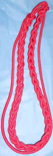 Braided with single strand 1-Color Box Cord