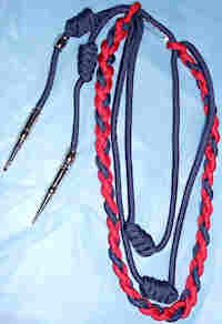 Four Strand 2-Color Citation Cord